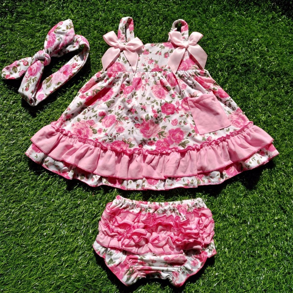 2018 new arrival baby summer dress baby girl swing tops swing dress pink flower swing outfits with matching ruffed bloomer set echo 1 2м для высотореза ppt 2100 ppt 235es 999464 00023