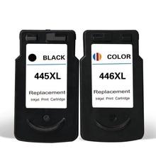 цена на vilaxh PG-445 CL-446 compatible Ink Cartridge For Canon PG445 CL446 Pixma MG2440 IP2840 MX494 MG2540 MG2940