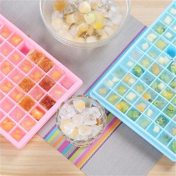 Nowy taca na kostki lodu 1pc silikonowy tacka do lodu 60 kostki kuchnia akcesoria barowe urządzenia galaretki kostki formy tacy DIY lody narzędzia 35 tanie i dobre opinie TENSKE Other Silikonowe Zaopatrzony Ekologiczne Ice Cube Ce ue