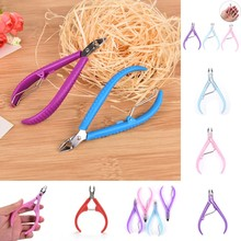 2019 Hot 7 Styles Nail Cuticle Nipper Trimming Stainless Steel Nail Clipper Cutter Cuticle Scissor Plier Manicure Tool