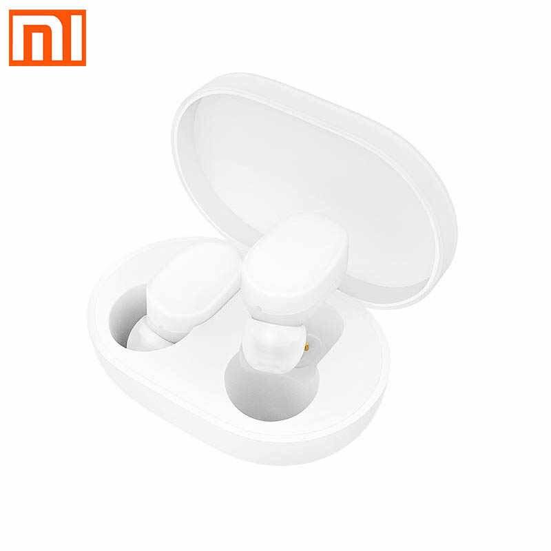 Xiaomi Mijia Airdots bezprzewodowe słuchawki Bluetooth 5.0 słuchawki młodzieżowe bas radiowy wersja z mikrofon bezprzewodowy AI Control