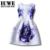 Vestidos de verano de 2017 Para Las Niñas de 12 años Sin Mangas Impresa una línea de Vestido de Princesa Grande Tamaño Adolescentes Niños Trajes tutu túnica 14