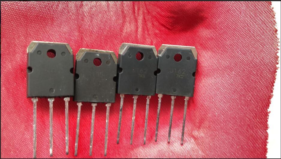 2sk1058  2PCS and 2sj162    Integrated     2PCS used,=4PCS    J162   K1058  TO3P2sk1058  2PCS and 2sj162    Integrated     2PCS used,=4PCS    J162   K1058  TO3P