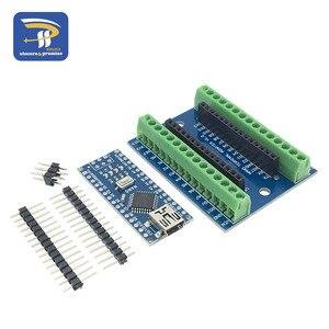 Image 5 - Adaptador de terminal nano v3.0 3.0, placa de extensão simples para arduino avr»
