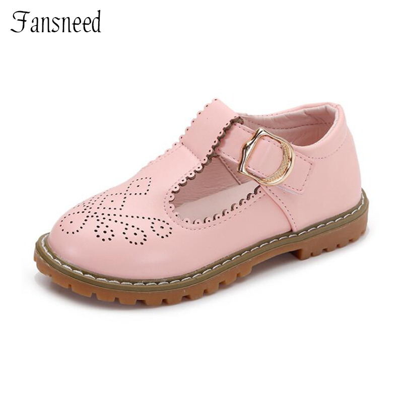 Spring and Autumn Princess peas shoes childrens casual cow muscle bottom shoes childrens leather shoes