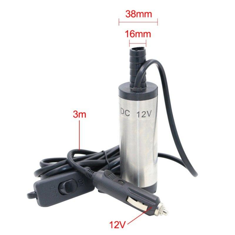 Heimwerker Honig Mini Diesel Fuel Wasser Öl Auto Camping Angeln Tauch Transfer Pumpe 3 M Draht 16mm Auslauf Durchmesser Dc 12 V 3,8 Cm So Effektiv Wie Eine Fee Sanitär