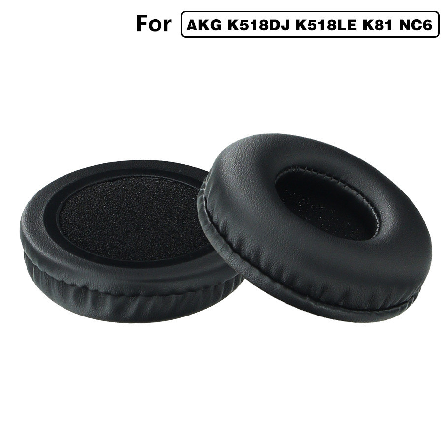 Replacement Earpads Ear Pads Cushions for AKG K518DJ K518LE K81 sony MDR-NC6 Headphones