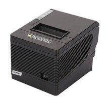 2017 new großhandel brand new Hohe qualität 80mm thermodrucker pos + LAN + serial port drucker automatische schneiden