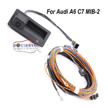 Trunk-Handle MIB Rear-View-Camera 4G0827566A Audi A6 with Trajectory Trace for C7 2-Unit