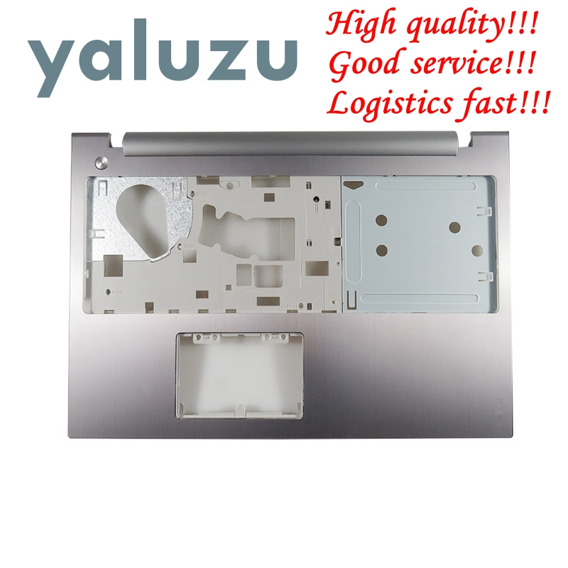 YALUZU NEW for Lenovo IdeaPad Z500 P500 Palmrest Keyboard Bezel Upper Case Cover AM0SY000300 TOP COVER SILVER