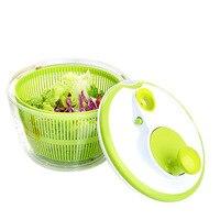 Salad Spinner with Pouring Spout 5L Large Capacity Vegetables Dryer Sieve Strainer Colander Basket TB Sale