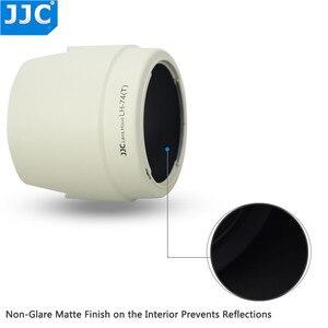 Image 4 - JJC حربة عدسة هود الظل لكانون EF 70 200 مللي متر f/4L هو USM/EF 70 200 مللي متر f/4L USM استبدال ET 74 يحل محل ET 74