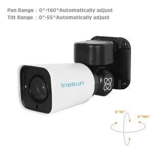Image 5 - Inesun PoE PTZ IP Security Camera Outdoor 2MP 1080P 4X Optical Zoom PTZ Camera Waterproof 120ft IR Night Vision Motion Detection