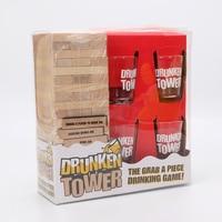 Drunken Tower Jengaa Games Drinking Games Bingo Christmas Gift Night Club Party Board Game Fun Life
