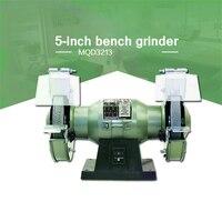 MQD3213 Multi function Bench Grinder Electric Knife Sharpener 5 inch Small Polishing Grinding Wheel Machine 220V 120W 3000r/min