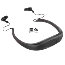 IPX8 Waterproof Sports MP3 Music Player Underwater Neckband Swimming Diving with FM Radio Earphone Stereo Audio Headphone