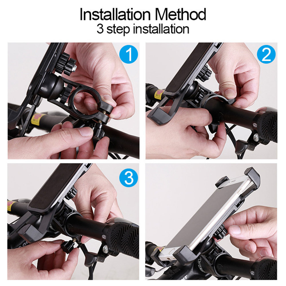Adjustable Bicycle Phone Holder Made Of PVC Material For Universal Mobile Cell Phone 10
