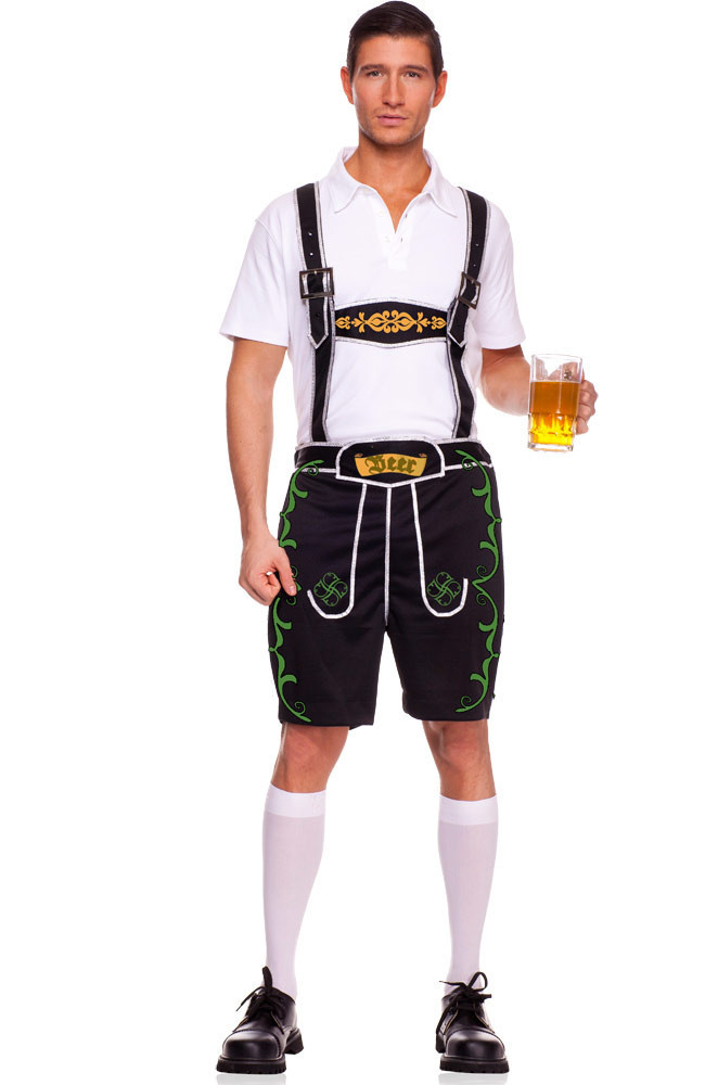 Adult Men's Oktoberfest Costumes Traditional German Bavarian Beer Male Cosplay Halloween Octoberfest Festival Party Clothes