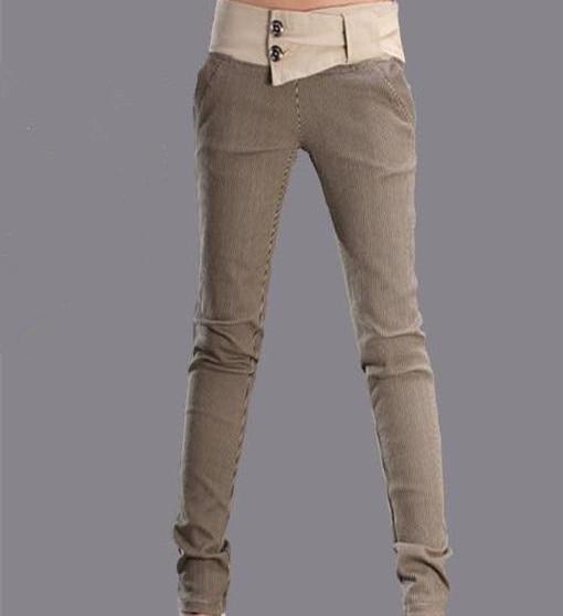 Online Buy Wholesale female khaki pants from China female khaki ...