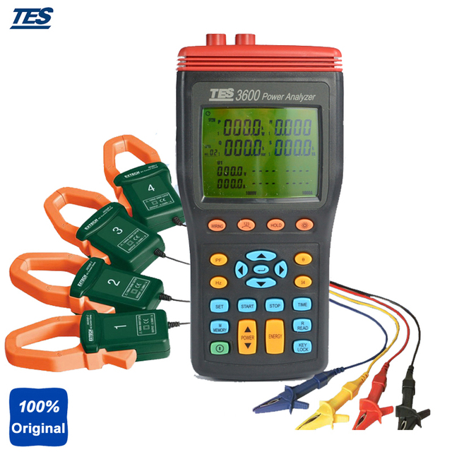 How to use a power analyzer/datalogger tes 3600, extech 382090.