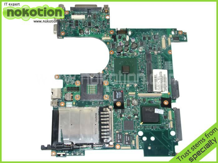 NOKOTION 378225-001 Laptop motherboard for HP NC6120 INTEL DDR2 GOOD Quality 100%test before shipment nokotion sps v000198120 for toshiba satellite a500 a505 motherboard intel gm45 ddr2 6050a2323101 mb a01