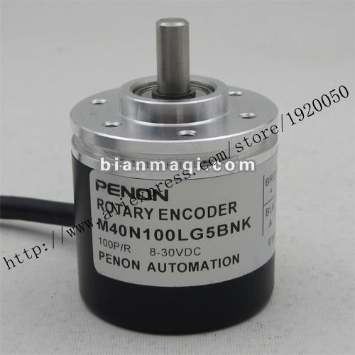 stock M40N100LG5BNK rotary encoder 100 6mm outer diameter of 40mm shaft diameter spot r38t 10g05l1024bm rotary encoder 1024 pulses shaft diameter 10mm outer diameter 38mm