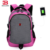 BaLang Multifunction Women Men Backpack Fashion Casual Bags Korean Style Shoulder Bag Laptop Backpack Schoolbags For