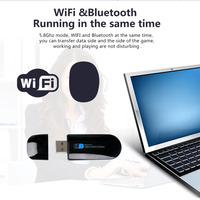 W67S 600Mbps High Quality Wifi Bluetooth 4 0 Card Combo Dual Frequency Wireless Bluetooth Network Card