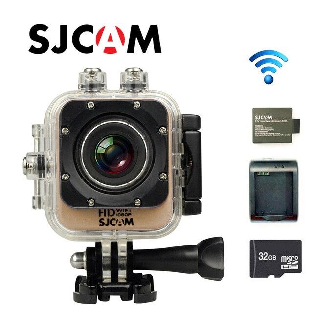 Free Shipping!! Original SJCAM M10 WiFi Full HD Sport Action Camera +Extra 1pcs battery+Battery Charger+32GB Class10 SD card
