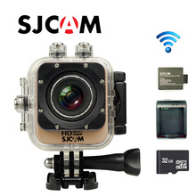 Free Shipping!! Original SJCAM M10 WiFi Full HD Sport Action Camera +Extra 1pcs battery+Battery Charger+32GB Class10 SD card