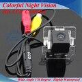Frete grátis SONY CCD HD câmera de visão traseira do carro câmera reversa estacionamento Backup para Mitsubishi Outlander