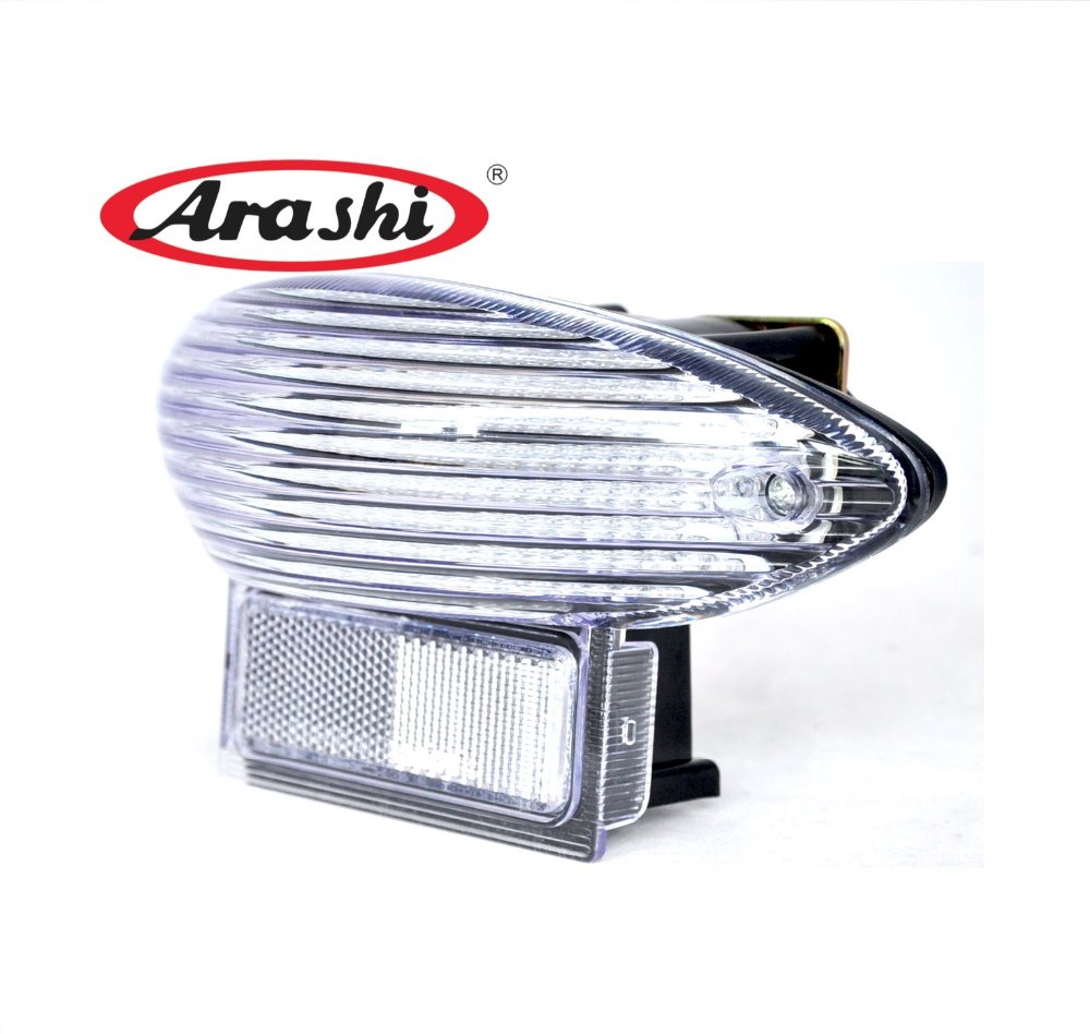 Arashi Integrated LED Brake Rear Tail Light For SUZUKI GSXR1300 Hayabusa 99-07 Katana 600 750 03-06 Turn Signal Light front turn signal light lens for suzuki hayabusa gsx1300r gsxr1300 2008 2012