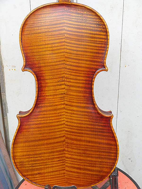 Best 4/4 Violin Guarneri Model Full Hand Made Violin No.4