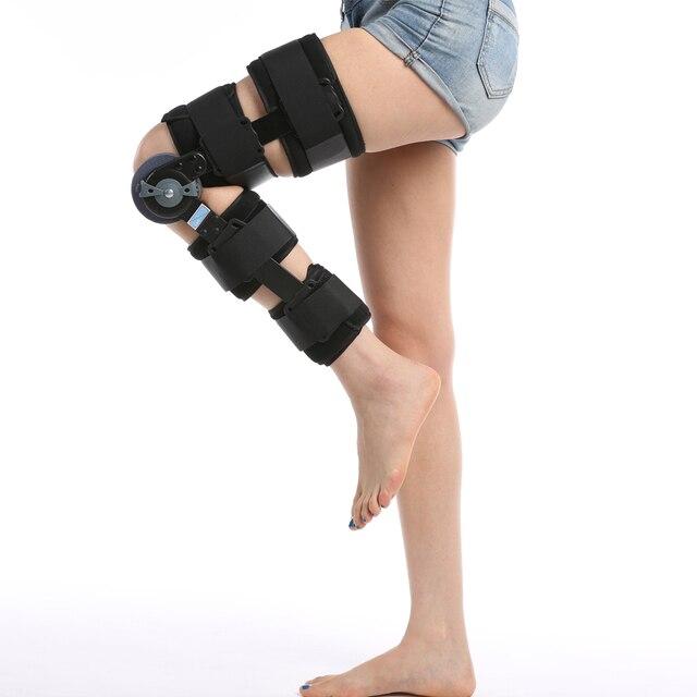06b91ba32c high quality angle adjustable orthopedic knee stabilizer / hinge knee brace  support