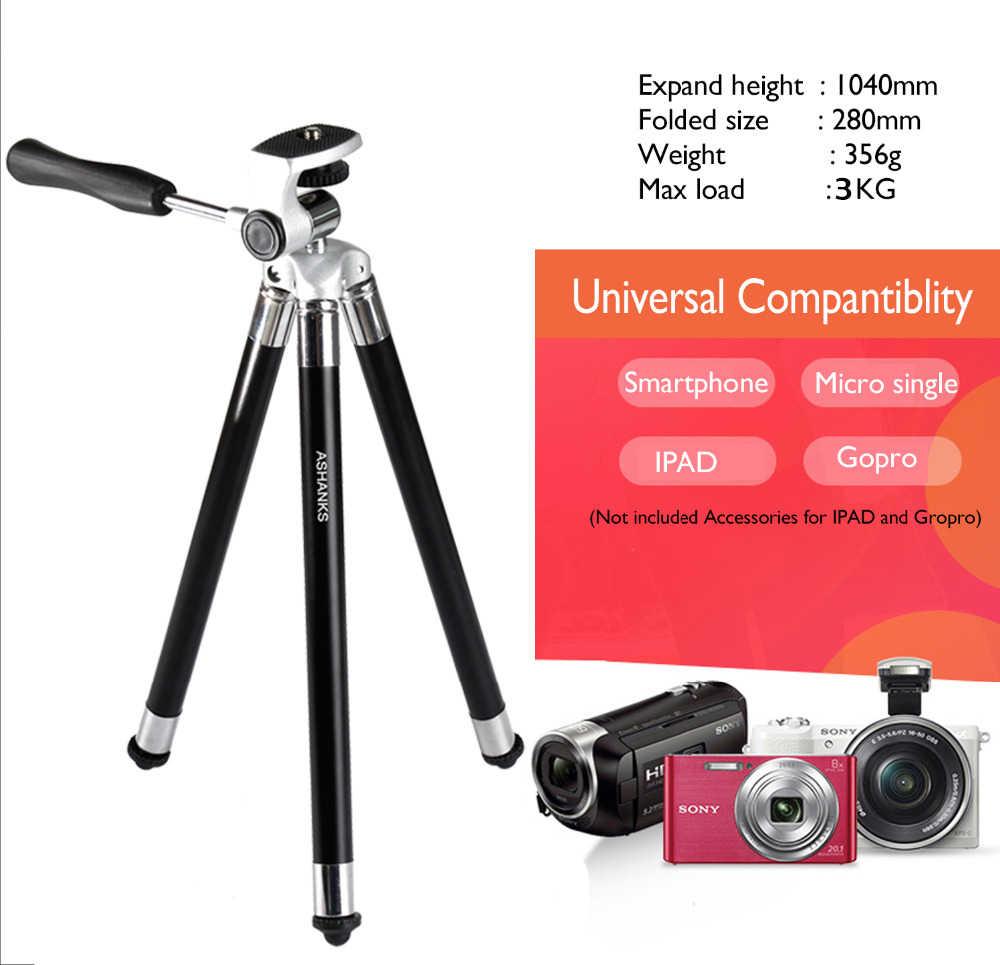 ASHANKS мини штатив для iPhone samsung Xiaomi huawei смартфон Ipad Штатив для Gopro аксессуары камеры