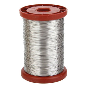 Image 1 - Beekeeping suppliesStainless Steel Wire for Beekeeping Beehive Frames Tool 1 Roll 0.5mm 500g convenient  product 2019 Exquisite
