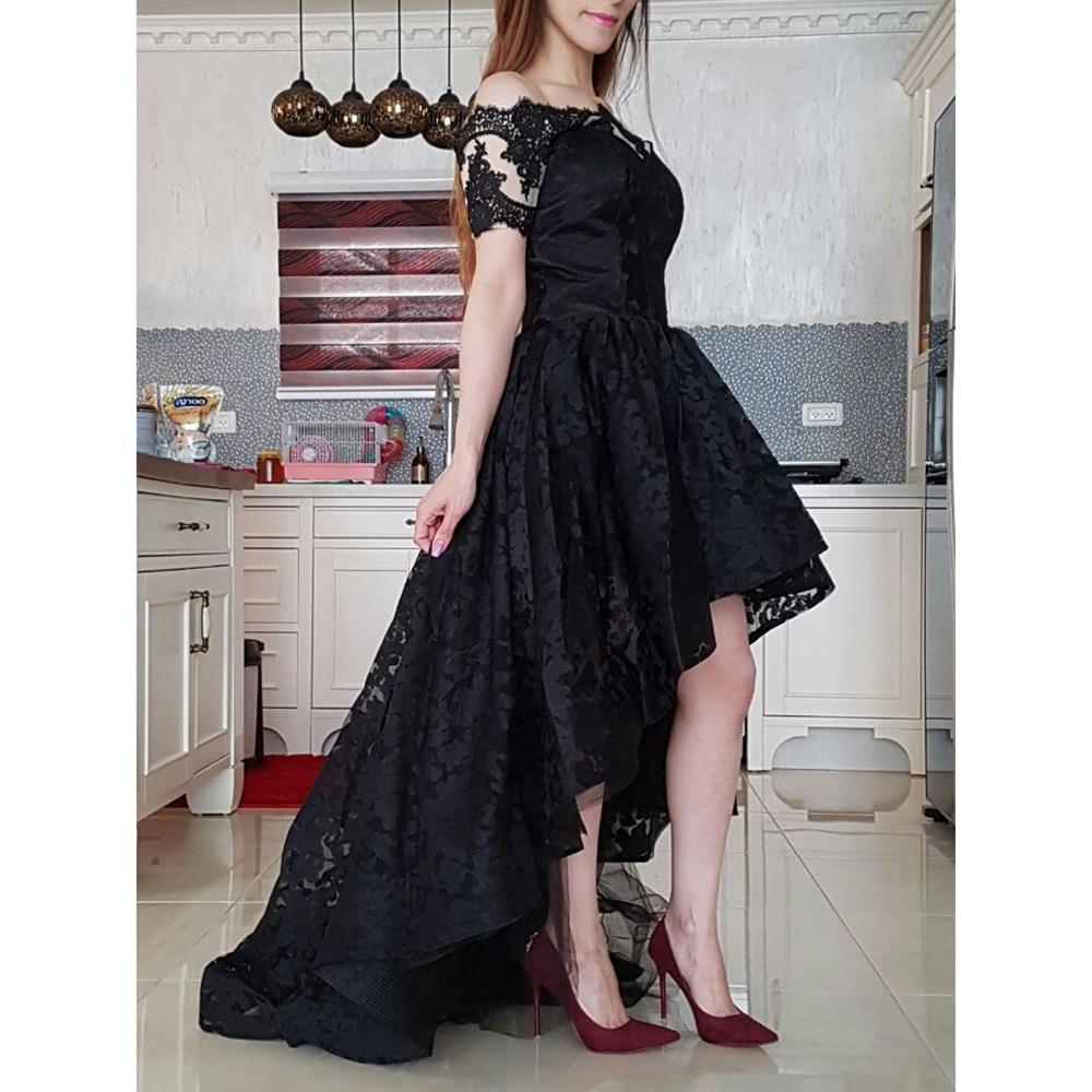 Hi Low Prom haljina s ramena Lijepe haljine za tinejdžerke Plus - Haljina za posebne prigode - Foto 5