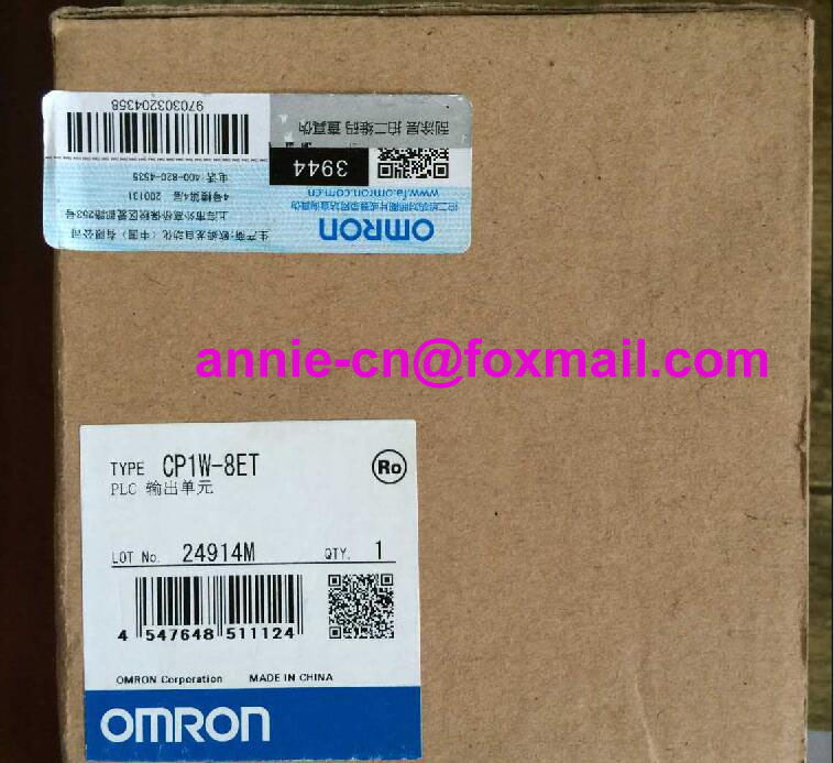 100% New and original CP1W-8ET  OMRON  PLC CONTROLLER   OUTPUT UNIT 100% new and original cp1w 40edr omron plc controller input output unit