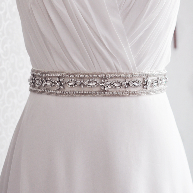 TOPQUEEN FREE SHIPPING S278 Rhinestones Crystals Wedding Belts Wedding sashes,Rhinestones Crystals Bridal Belts Bridal Sashes.