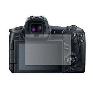 Image 1 - 캐논 EOS R EOSR 카메라 LCD 디스플레이 화면 보호 필름 가드 보호를위한 강화 유리 보호대 가드 커버