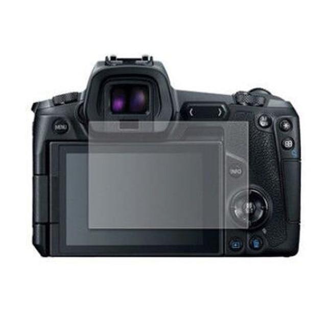 캐논 EOS R EOSR 카메라 LCD 디스플레이 화면 보호 필름 가드 보호를위한 강화 유리 보호대 가드 커버