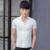 2016 de Lujo de Los Hombres Del Verano Camisa de Manga Corta de Color Sólido Camisas de Vestir Casuales Ropa de Hombre Slim Fit Con Estilo Tops Botón Abajo