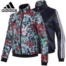 c0a48173c78 Nova Chegada Original Adidas W VDAY REV JKT jaqueta Reversível Com Capuz  Sportswear das Mulheres