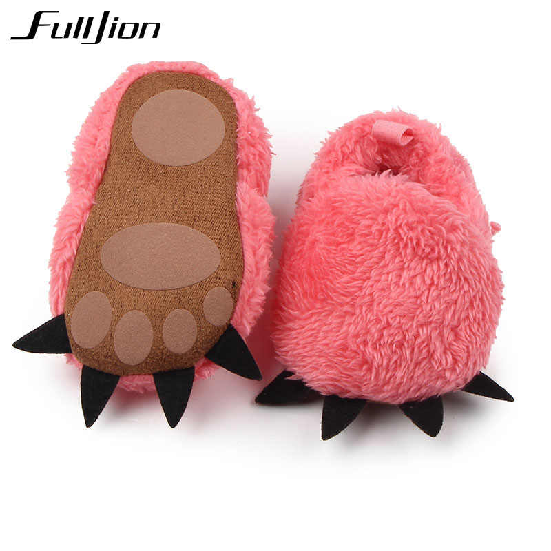 d366a9c2165 ... Fulljion First Walkers Baby Shoes Infants Crib Boots Comfort Moccasins  Sneakers Toddlers Monster Paw Slippers Sneakers ...