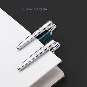 Image 3 - زيبرا JJ55 الأعمال المعدنية التوقيع هلام القلم الطالب امتحان القلم طبعة محدودة الراقية قلم هدية 0.5 مللي متر