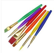Weson гуашь нейлоновая творческих художественные краски рисунок инструментов обучения живопись красочные