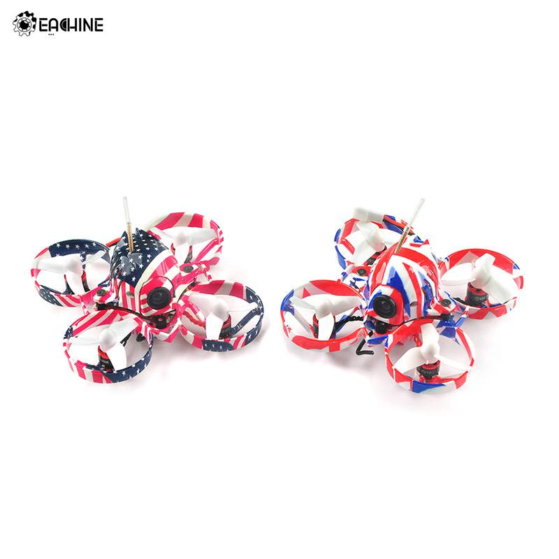 Eachine US65 UK65 65mm Whoop FPV Racing Drone BNF with 120 Degree View Camera Crazybee F3 Flight Controller OSD 6A Blheli_S ESC
