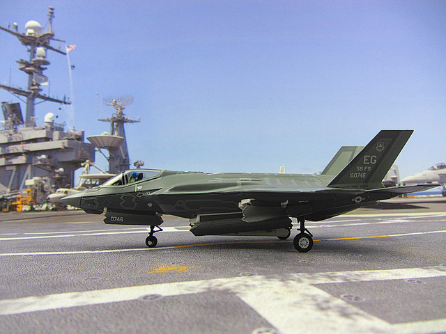Airforce F-35A 1:72 US simulation model aircraft model aircraft fighter military model alloy gifts customized postage