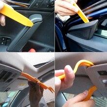 4 Pcs/un set di Plastica Auto Auto Pannello Radio Door Panel Clip Dash Trim Audio Removal Kit di Riparazione A Mano cabina di guida Della Leva Strumento di Accessori