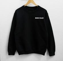 цена на Sugarbaby Dog Dad Sweatshirt Long Sleeve Fashion Tumblr Jumper Crew Neck Dog Sweatshirt Dad Clothing Gift Dog Lover Sweatshirt